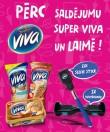 Loterija - Super Viva un Maxima - Saldējuma loterija - laimē balansa dēli!