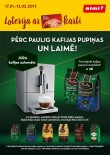Loterija - Rimi un Paulig - Laimē kafijas aparātu!