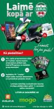 Loterija - FK Liepāja - Laimē mopēdu, telefonu vai ceļojumu!