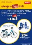 Loterija - Nivea un RIMI - Pērc Nivea ar Mans Rimi karti un laimē elektrisko velosipēdu!
