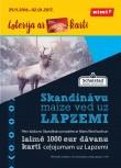 Loterija - Skandināvu maize un Mans Rimi - Laimē ceļojumu uz Lapzemi!